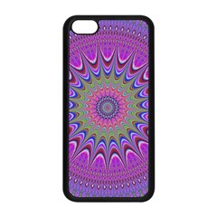 Art Mandala Design Ornament Flower Apple Iphone 5c Seamless Case (black) by BangZart