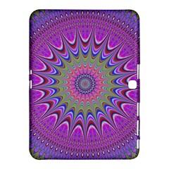 Art Mandala Design Ornament Flower Samsung Galaxy Tab 4 (10 1 ) Hardshell Case  by BangZart