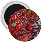 Carpet Orient Pattern 3  Magnets