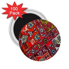 Carpet Orient Pattern 2 25  Magnets (100 Pack)