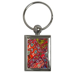 Carpet Orient Pattern Key Chains (rectangle)