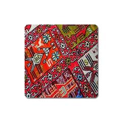 Carpet Orient Pattern Square Magnet