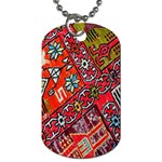 Carpet Orient Pattern Dog Tag (One Side)