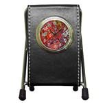 Carpet Orient Pattern Pen Holder Desk Clocks