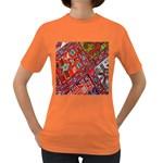 Carpet Orient Pattern Women s Dark T-Shirt