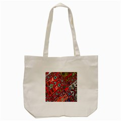 Carpet Orient Pattern Tote Bag (cream) by BangZart