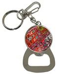 Carpet Orient Pattern Button Necklaces