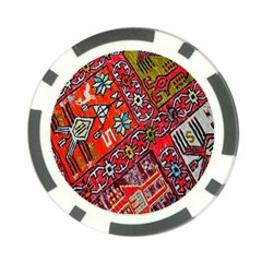 Carpet Orient Pattern Poker Chip Card Guard