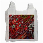 Carpet Orient Pattern Recycle Bag (Two Side)