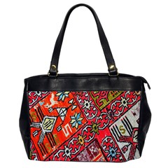 Carpet Orient Pattern Office Handbags (2 Sides)  by BangZart