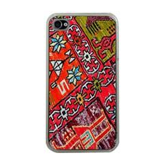 Carpet Orient Pattern Apple iPhone 4 Case (Clear)