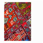Carpet Orient Pattern Small Garden Flag (Two Sides)