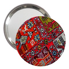 Carpet Orient Pattern 3  Handbag Mirrors
