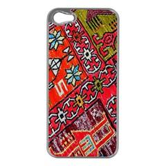 Carpet Orient Pattern Apple iPhone 5 Case (Silver)