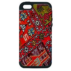 Carpet Orient Pattern Apple iPhone 5 Hardshell Case (PC+Silicone)