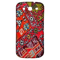 Carpet Orient Pattern Samsung Galaxy S3 S Iii Classic Hardshell Back Case by BangZart