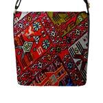 Carpet Orient Pattern Flap Messenger Bag (L)