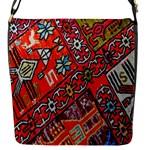 Carpet Orient Pattern Flap Messenger Bag (S)