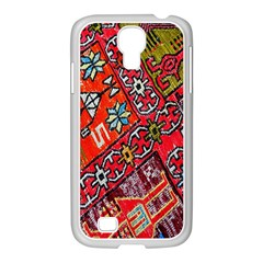 Carpet Orient Pattern Samsung Galaxy S4 I9500/ I9505 Case (white)