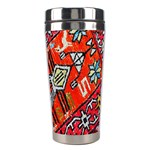 Carpet Orient Pattern Stainless Steel Travel Tumblers