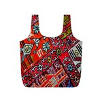 Carpet Orient Pattern Full Print Recycle Bags (S)