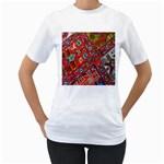 Carpet Orient Pattern Women s T-Shirt (White)