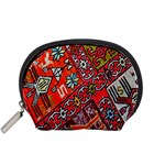 Carpet Orient Pattern Accessory Pouches (Small)