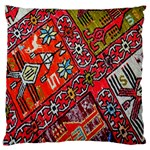 Carpet Orient Pattern Large Flano Cushion Case (Two Sides)