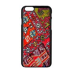 Carpet Orient Pattern Apple Iphone 6/6s Black Enamel Case