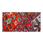 Carpet Orient Pattern Satin Wrap