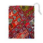 Carpet Orient Pattern Drawstring Pouches (Extra Large)