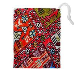 Carpet Orient Pattern Drawstring Pouches (XXL)