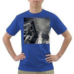 Chicago Skyline Tall Buildings Dark T Shirt