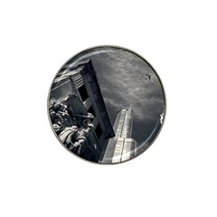 Chicago Skyline Tall Buildings Hat Clip Ball Marker by BangZart