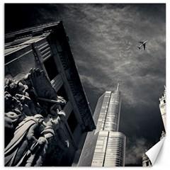 Chicago Skyline Tall Buildings Canvas 20  X 20