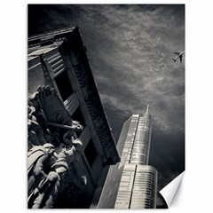 Chicago Skyline Tall Buildings Canvas 18  X 24   by BangZart