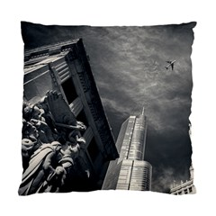 Chicago Skyline Tall Buildings Standard Cushion Case (two Sides)