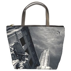 Chicago Skyline Tall Buildings Bucket Bags