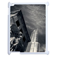 Chicago Skyline Tall Buildings Apple Ipad 2 Case (white) by BangZart