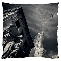 Chicago Skyline Tall Buildings Large Cushion Case (one Side)