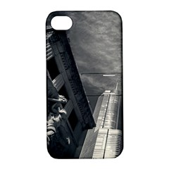 Chicago Skyline Tall Buildings Apple Iphone 4/4s Hardshell Case With Stand by BangZart