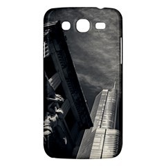 Chicago Skyline Tall Buildings Samsung Galaxy Mega 5 8 I9152 Hardshell Case  by BangZart