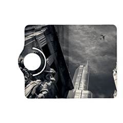 Chicago Skyline Tall Buildings Kindle Fire Hd (2013) Flip 360 Case by BangZart