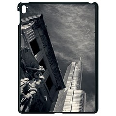 Chicago Skyline Tall Buildings Apple Ipad Pro 9 7   Black Seamless Case