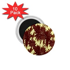 Floral Pattern Background 1 75  Magnets (10 Pack)