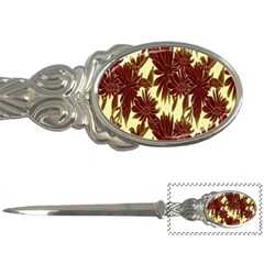 Floral Pattern Background Letter Openers by BangZart