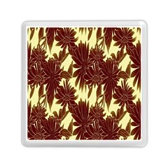 Floral Pattern Background Memory Card Reader (square)  by BangZart