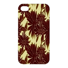 Floral Pattern Background Apple Iphone 4/4s Premium Hardshell Case by BangZart