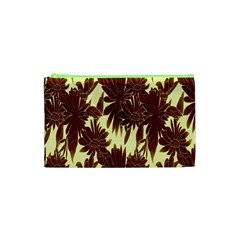 Floral Pattern Background Cosmetic Bag (xs) by BangZart