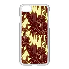 Floral Pattern Background Apple Iphone 7 Seamless Case (white) by BangZart